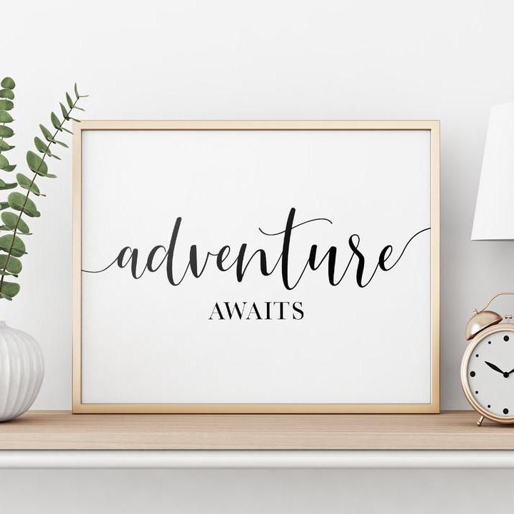 Adventure awaits travel quote