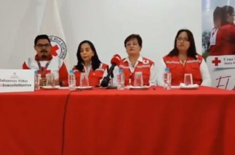 Cruz Roja Ecuatoriana suspende su atención por falta de garantías