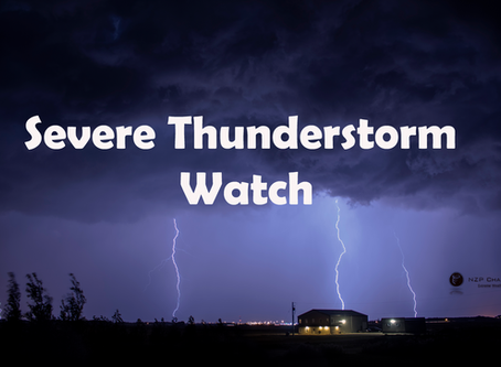 Severe thunderstorm watches issued for Manitoba