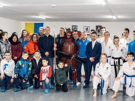 """Відбулось урочисте відкриття центру бойових мистецтв """"Камуродзан""""!"""
