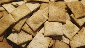 Sourdough Whole Grain Red Fife Crackers