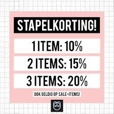 Differentiatie: weersta de stapelkorting!