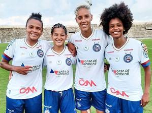 Série A2 Feminino: Bahia estreia e vence por goleada no campeonato