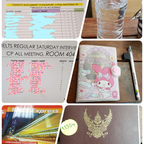 Review : Taking IELTS for the 1st  time 👀