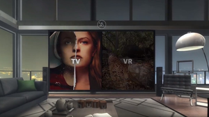 Screenshot of the Hulu VR app