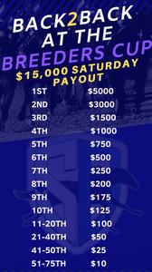 StableDuel fantasy horse racing app. Saturday Breeders' Cup Betting.