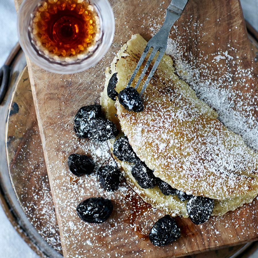 Russisk omelet opskrift Hannah Lund 1900 Til bords
