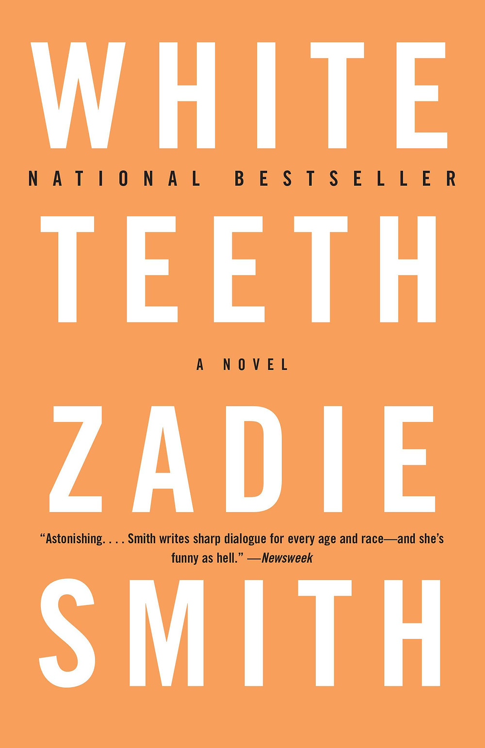White Teeth by Zadie Smith : the book slut book reviews