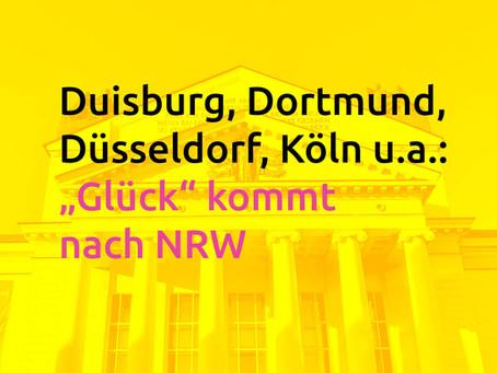 Im Oktober startet das Pilotprojekt Glück auch in NRW