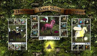 En Pointe - Unicorn and Pegasus Skins