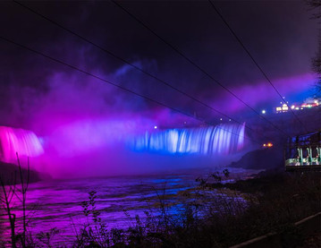 Niagara Falls to light it up Blue and Purple in 2020