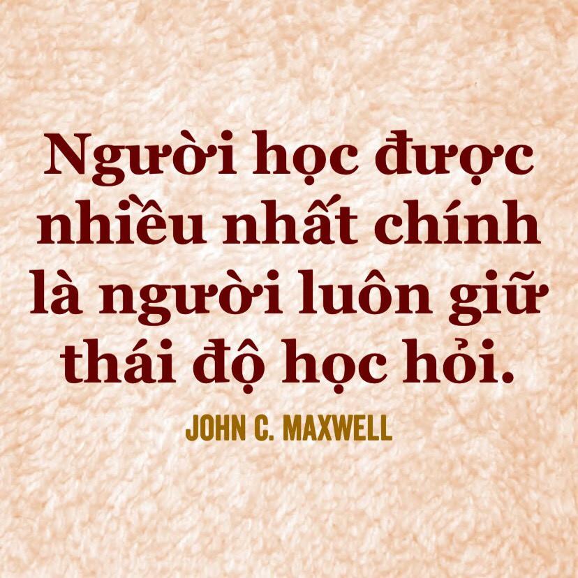 Thái độ học hỏi - John Maxwell