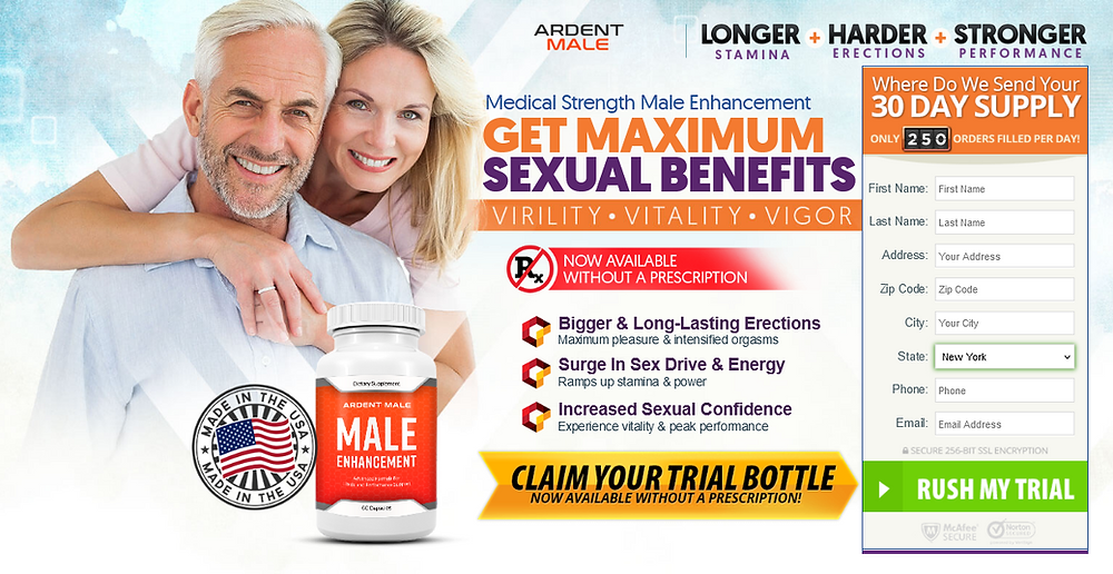 Ardent Male Enhancement - Are These Pills Really Working? | labournetblog