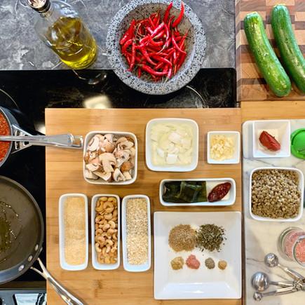 Mexican Vegan Lentil Albondigas on Zucchini Noodles (Meatless Meatballs)
