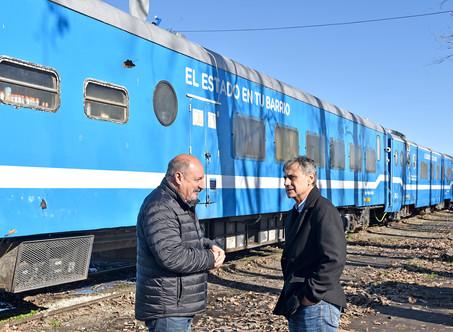 Concejales de Cambiemos visitaron el tren sanitario y social