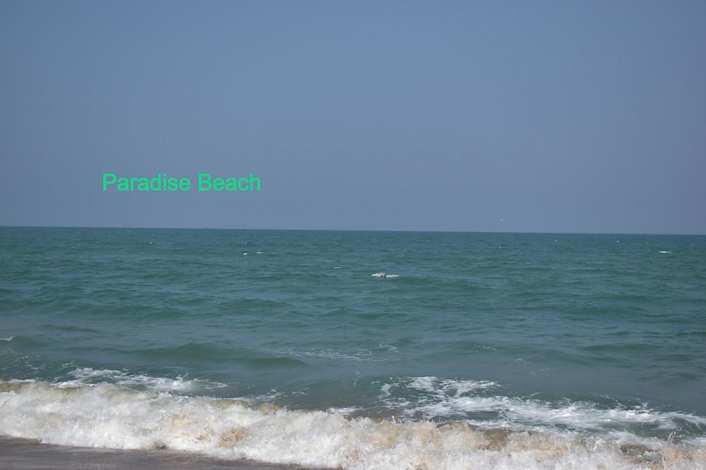 Beach in Pondicherry, paradise beach