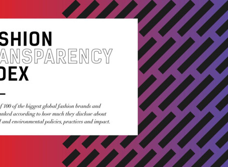 Fashion Transparency Index 2017: Ranking Brands by How Much Information they Provide