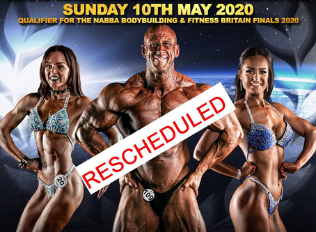 NABBA North West 2020 Poster