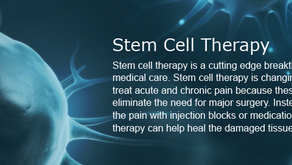 Stem Cell Therapy Relieves Pain