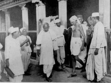 Calcutta Congress 1928 - rift between Gandhi loyalists and Subhas