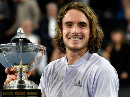 TSITSIPAS (GRE) WINS 5TH TITLE IN MARSEILLE