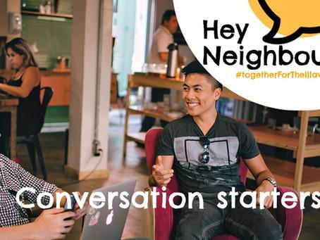 RESOURCES: Conversation Starters