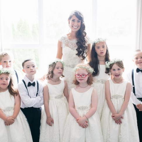 Special Ed Teacher Had All of Her Students in Her Wedding