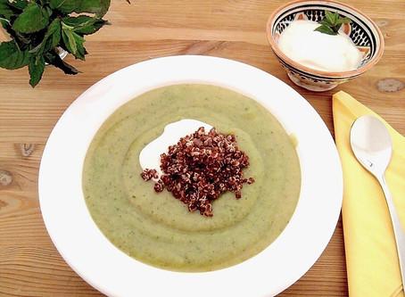 Brokkoli-Kartoffel-Crèmesuppe