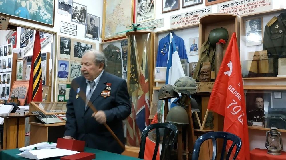 דויד זלבנסקי, מוזיאון אנרגיית הגבורה, חדרה