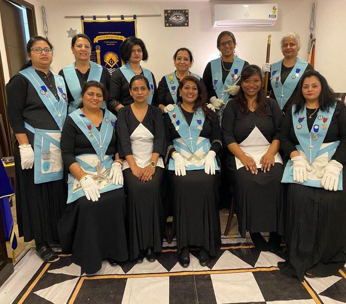 Freemasonry Women - Welcome to our new Brethren Sweta and Ambar