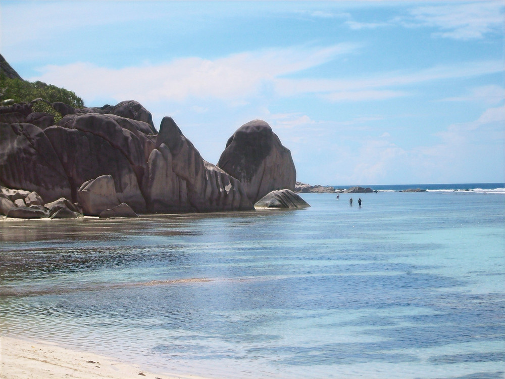Anse Source D'Argent is voted one of the best beaches in the world.