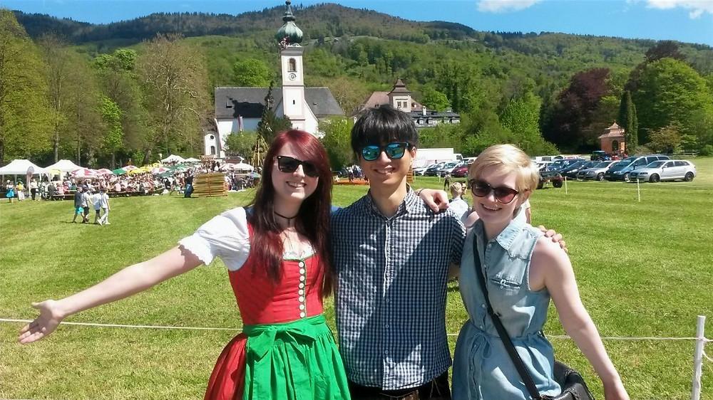 Maibaumaufstellen in Salzburg