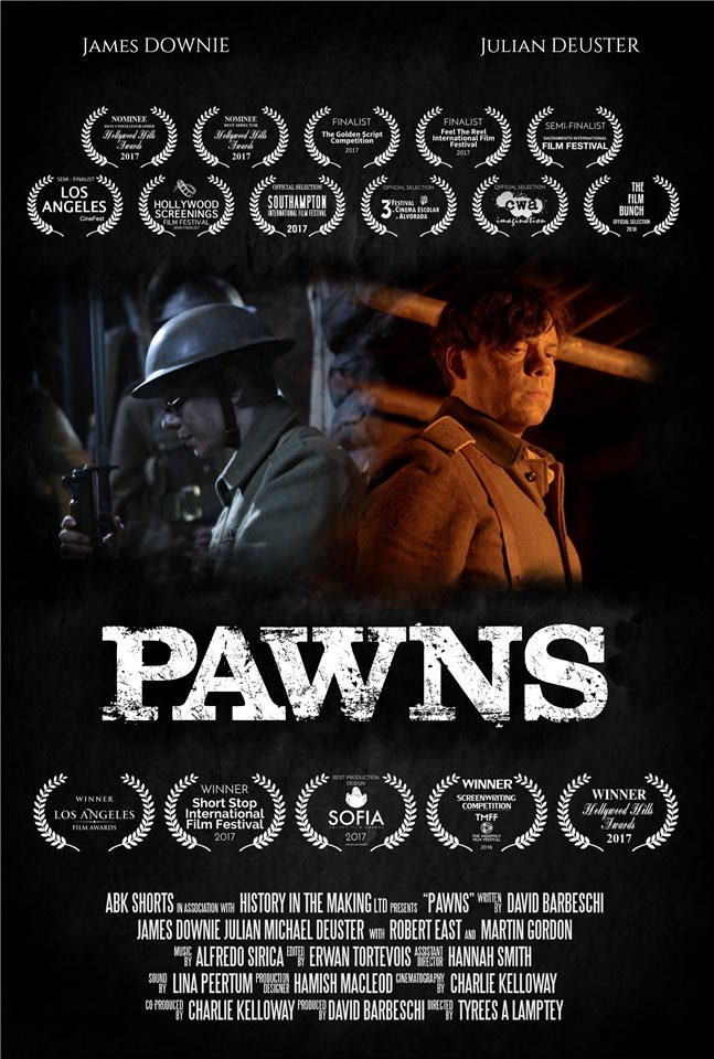 Pawns short film poster