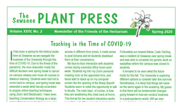 Latest Issue of the Plant Press Released