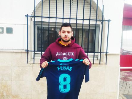 Bar Los Niños sorteará la camiseta del jugador del Albacete Balompié, Aleix Febas