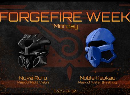 FORGEFIRE Monday: Masks of Adaptation