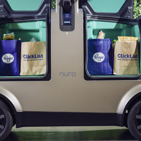 KROGER TO USE ROBOT CARS FOR GROCERY DELIVERIES IN ARIZONA