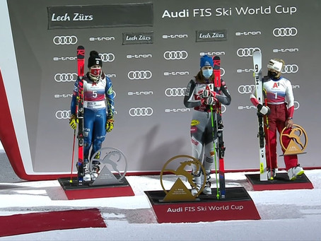 Petra Vlhova Claims Victory in Lech Zürs Parallel