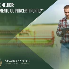 O que é melhor: arrendamento ou parceria rural?