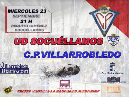 Próximo partido del CP Villarrobledo ante la UD Socuéllamos