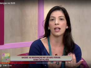VÍDEO: Conheça as novas mudanças no SUS e na saúde privada. Por Danielle Bitetti