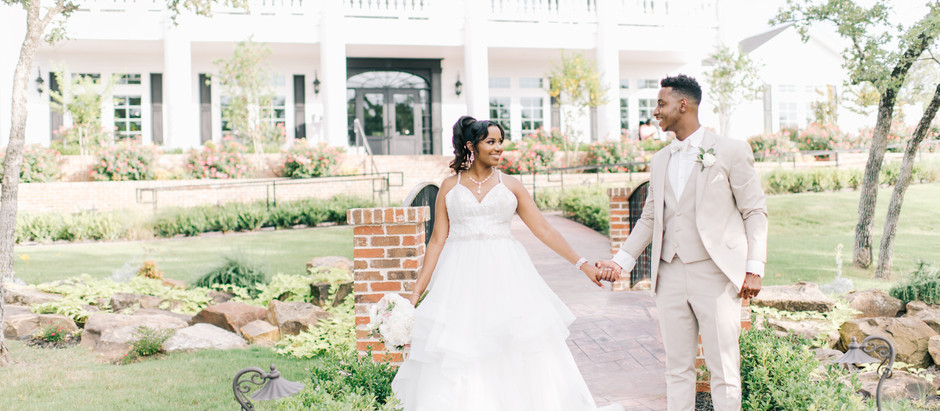 Summer Wedding at The Springs in Weatherford | A Parker Manor Wedding | Dawn & Marquis Wedding B