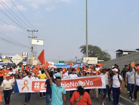 Protestas en Santa Marta por designación de Alcalde Encargado