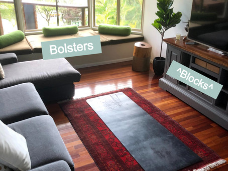 Setting up Your Yoga Space