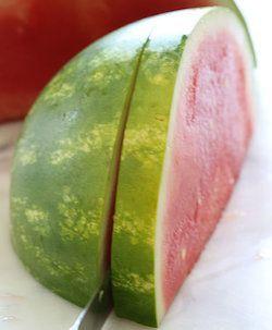 Zdravá melounová pizza