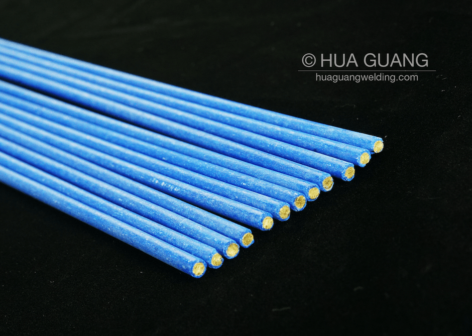 Flux-Coated Brazing Rod