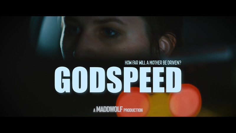 Poster for Godspeed showing protagonist Cat McAlpine.