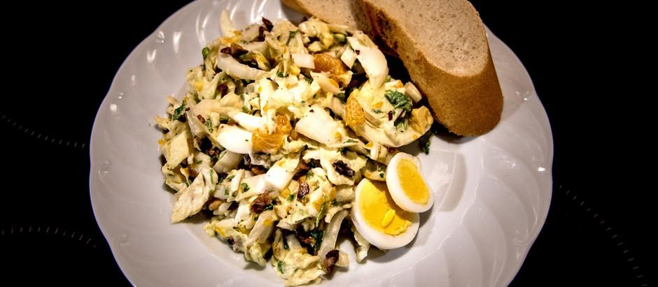 Chinakohl-Salat                                         (4 Portionen)