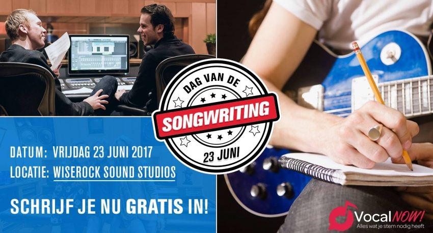 Dag van de songwriting 23 juni