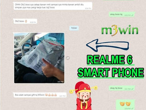 M3win May Lucky Draw - Realme 6 Smart Phone (2)